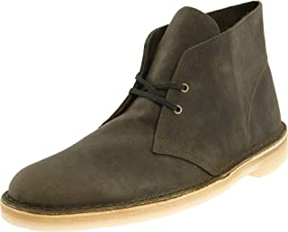 Clarks Men's Desert Boot,Olive Leather,9 M US (B0040FS09O) | Amazon price tracker / tracking, Amazon price history charts, Amazon price watches, Amazon price drop alerts