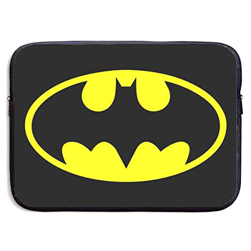CHLING Batman Neoprene Laptop Sleeve Case Bag Cover Compatible 13-15 Inch MacBook Pro/MacBook Air/Notebook