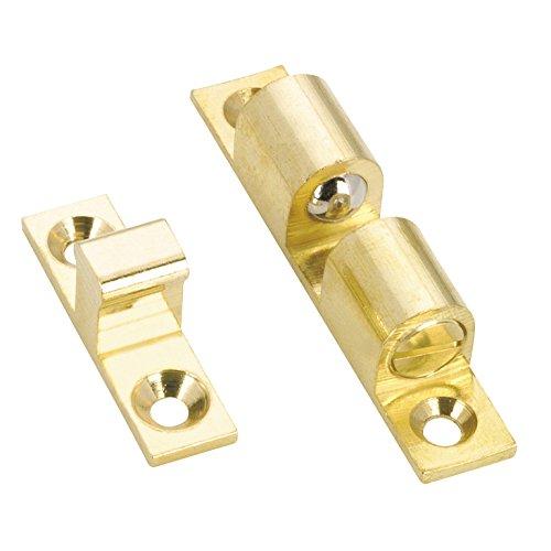 OQO BP55334130 Heavy-Duty Double Bead Latch, 1 7/8 In, Brass