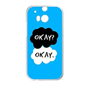 Happy Cartoon warm dialogue Cell Phone Case for HTC One M8