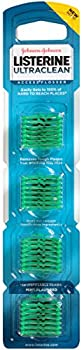Listerine Ultraclean Disposable Snap-On Flosser Refill Heads