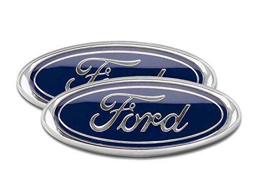(2004-2014 Ford F150 Front Grille Tailgate Emblem, Oval 9