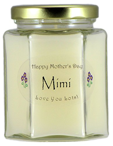 - Just Makes Scents Mimi Mothers Day Candle - Gardenia Scented Mothers Day Gift Candle - Hand Poured in the USA by