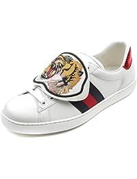 Gucci Men's Detachable Tiger Patch Sneakers