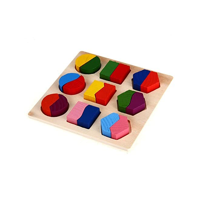 dcolor puzzle jouet jeux casse tete educatif en bois pour. Black Bedroom Furniture Sets. Home Design Ideas