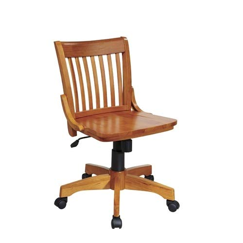 r with Adjustable Height Wood Seat Chair Office Vintage Mid Century Desk CHOOSEandBUY ()