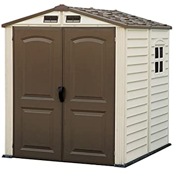 Duramax 30411 Store Mate Vinyl Shed with Floor, 6 x 6