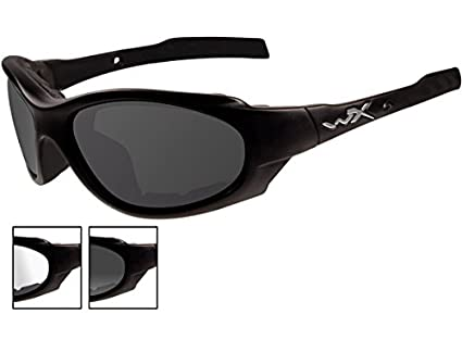 251d19ff58 Amazon.com  Wiley X XL-1 Advanced Smoke Grey Clear Lens Matte Black ...