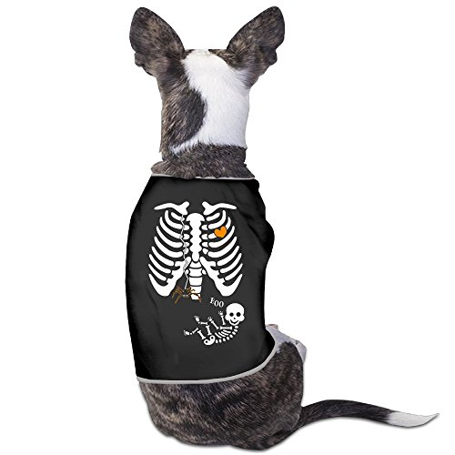 Black Cat Costume History (Theming Pregnant Skeleton Spider Web Halloween Dog Vest)