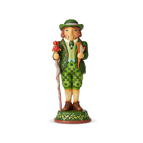 Enesco Jim Shore Heartwood Creek Irish Nutcracker Figurine