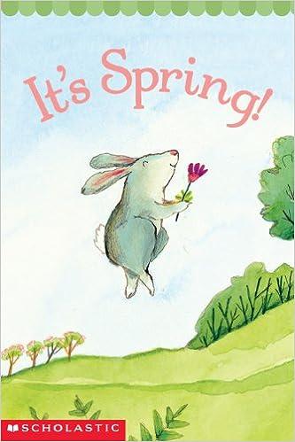 It's Spring! de Samantha Berger es un easy reader rimado con ilustraciones superbonitas y divertidas que muestran cómo llega la primavera.