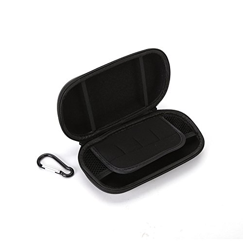 Travel Case for PS Vita; PS Vita case or other consoles, PSV Cables or Accessories. Double Compartment.