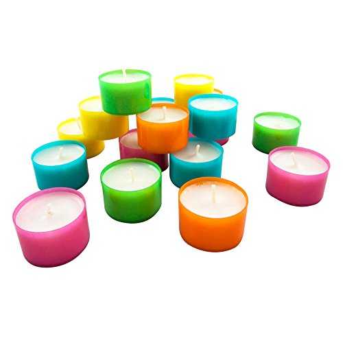 Stonebriar-DTL-100-8-Long-Burning-Tealight-Candles-8-Hours-White-Unscented-100-Pack