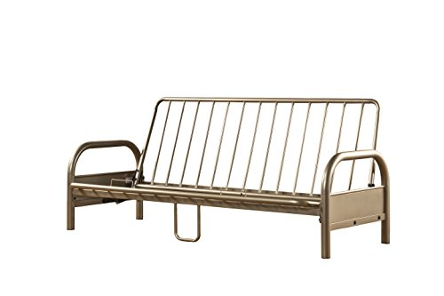 Hillsdale Furniture 1455H Hillsdale Geneva, Full,Pewter Futon Frame