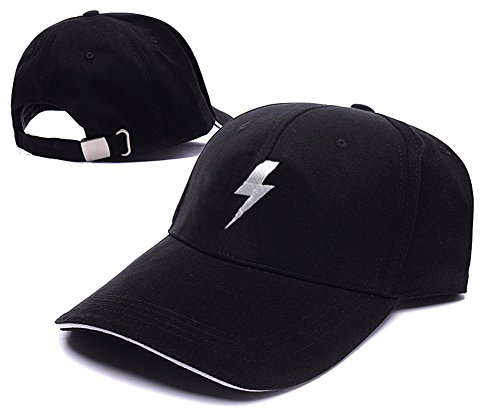 ACDC ac dc Lightning Bolt Logo Adjustable Baseball Caps Unisex Snapback Embroidery Hats