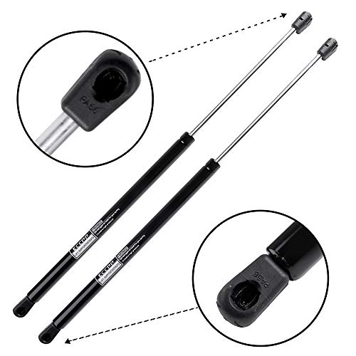 (ECCPP Lift Support Rear Liftgate Replacement Struts Gas Springs Fit for 2007-2016 Jeep Compass Set of 2)
