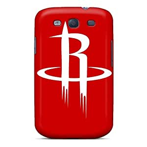 Frashop986 Perfect Tpu Cases For Galaxy S3/ Anti-scratch Protector Cases (nba Houston Rockets 1)