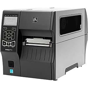 "Zebra ZT410 Direct Thermal/Thermal Transfer Printer - Monochrome - Desktop - Label Print - 4.09"" Print Width - 14 in/s Mono - 300 dpi - Bluetooth - USB - Serial - Ethernet - LCD"