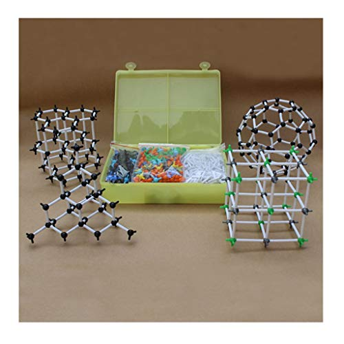 - callm 968pcs New Organic Chemistry Scientific Atom Molecular Models Links Kit Set Teacher and Student Kit (B)