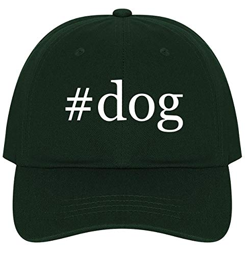 The Town Butler #Dog - A Nice Comfortable Adjustable Hashtag Dad Hat Cap, Forest, One Size