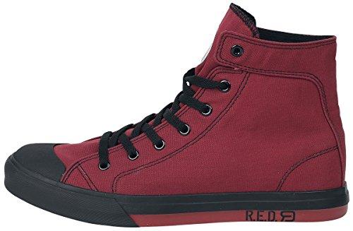 RED by EMP Leisure Feet II Sneaker Schwarz/Weiß Rot