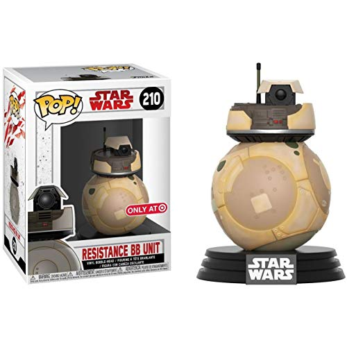 Funko Pop Star Wars Figura de Vinilo Resistance BB Unit, Multicolor (08896981476