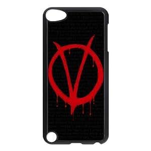 C-EUR Customized Print V for Vendetta Pattern Hard Case for iPod Touch 5 Kimberly Kurzendoerfer