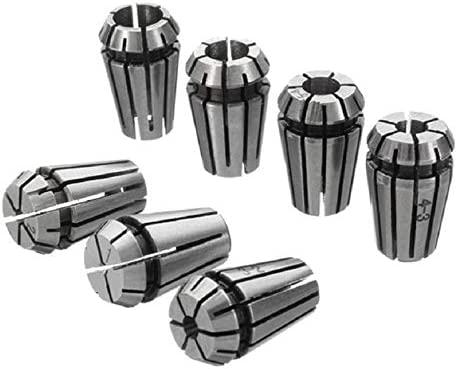 Xueliee ER11 5 mm//6,35 mm//8 mm soporte de barra de extensi/ón soporte de herramientas CNC fresado motor eje collet Chuck A6 A6-1 set