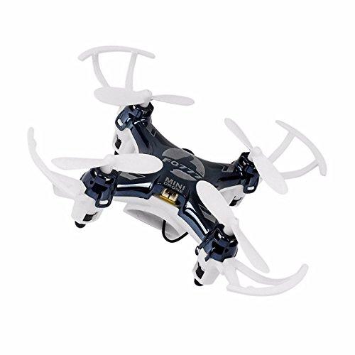 KAIM 2.4GHz 4CH 6 Axis Gyro Mini RC Racing Quadcopter 30W HD Camera WiFi FPV Real Time Transmission-Black by KAIM