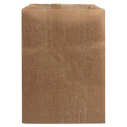 Hospital Specialty Co. Waxed Kraft Liners, 8-1/4 x 12 x 5-3/4, Brown - 500 bags.
