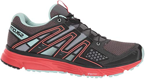 Running Women''s black Red magnet 3 Trail W poppy Salomon Black mission X Shoes YdxYaq