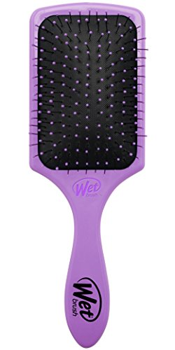 Wet Brush Paddle Hair Brush, Purple