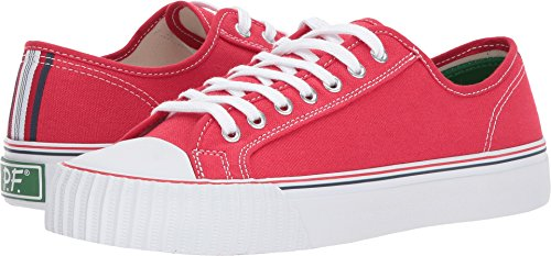 PF Flyers Men's Center Lo Fashion Sneaker, Red, 8 D US