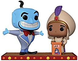 Funko Pop Disney: Movie Moment: Aladdin Genie Collectible Figure, Multicolor