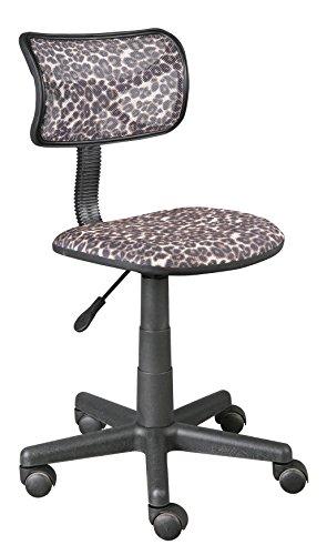Urban Shop High Back Mesh Office Chair, Leopard (Urban Leopard)