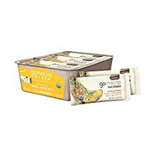 GoMacro MacroBar Organic Vegan Protein Bars - Banana + Almond Butter (2.3 Ounce Bars, 12 Count)