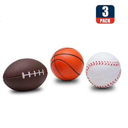 Squishies Basketball Baseball Squishy Slow Rising Stress Toys Sports Ball Stress Reliever Kids Toy,decorative props Large or Stress Relief