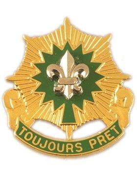 Cavalry Unit - 2nd Armored Cavalry Regiment Unit Crest (Toujours Pret)