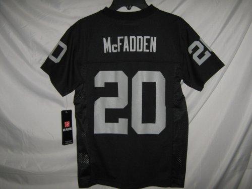 Darren McFadden Oakland Raiders Black NFL Youth 2013-14 Season Mid-tier Jersey