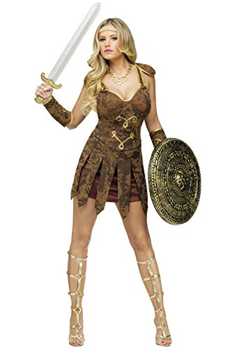 [Mememall Fashion Sexy Gladiator Warrior Hecules Adult Halloween Costume] (Gladiator Dog Costumes)