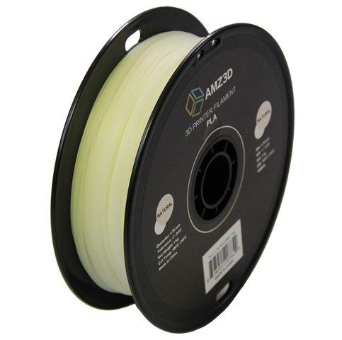 UPC 628055207849, 1.75mm Natural PLA 3D Printer Filament - 1kg Spool (2.2 lbs) - Dimensional Accuracy +/- 0.03mm