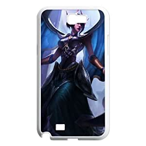 Samsung Galaxy N2 7100 Cell Phone Case White League of Legends Victorious Morgana Obkti