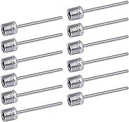 Ball Pump Needles, 12PCS Football Pump Needles, Metal Inflator Needles for Football, Basketball, Volleyball, B