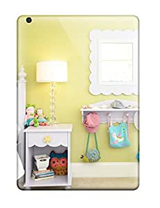 New Arrival Ipad Air Case Girls Room With White Nightstand Shelf 038 Mirror Case Cover