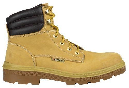 """Cofra 25550–001.w45taglia 45s3src """"Kaibab bis"""" sicurezza scarpe, colore: marrone/cammello"""