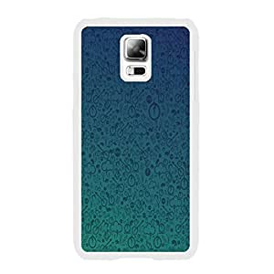Personalized Designed High Impact Combo Graphic Hard Plastic Phone Cases for Samsung Galaxy S5 I9600 Back Cover Skin Protector (simple graphic blue BY428)