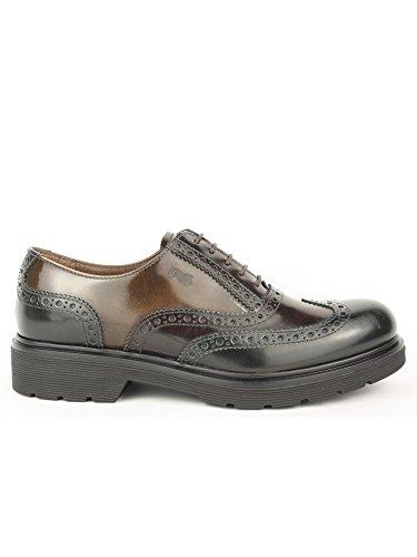 Negro Giardini–, a616170d, cordones zapato tipo inglés, piel Verde