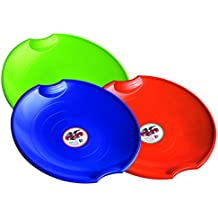 Flexible Flyer 3-Pack Snow Saucer Sleds. 26 Inch Round Sno Disc Slider
