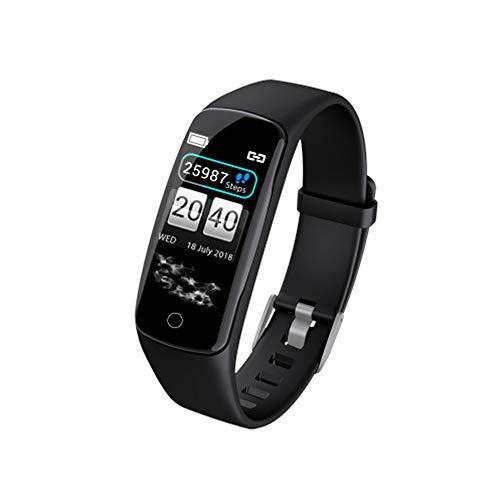 - Smart Bracelet Color Screen Heart Rate Blood Pressure Oxygen Monitoring Bluetooth Multiple Dials Fashion Big Screen Sports Bracelet