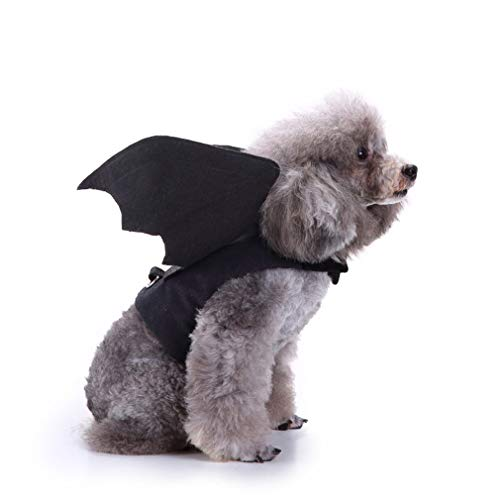 Pet Bat Wings Costume for Cat Puppy Small Dog, Adjustable Pet Apparel, Dog/Cat Costume Halloween Accessory for Cosplay…